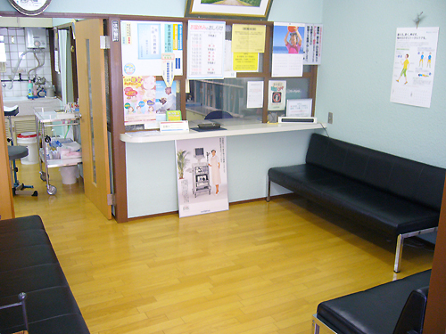 待合室/山科区 内科 がん 治療
