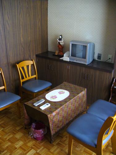 内視鏡診断待合室/山科区 内科 がん 治療