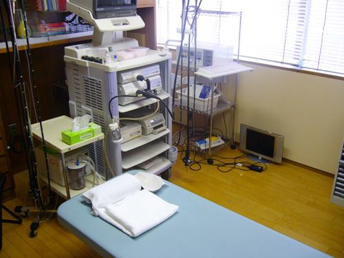 内視鏡診察室/山科区 内科 がん 治療